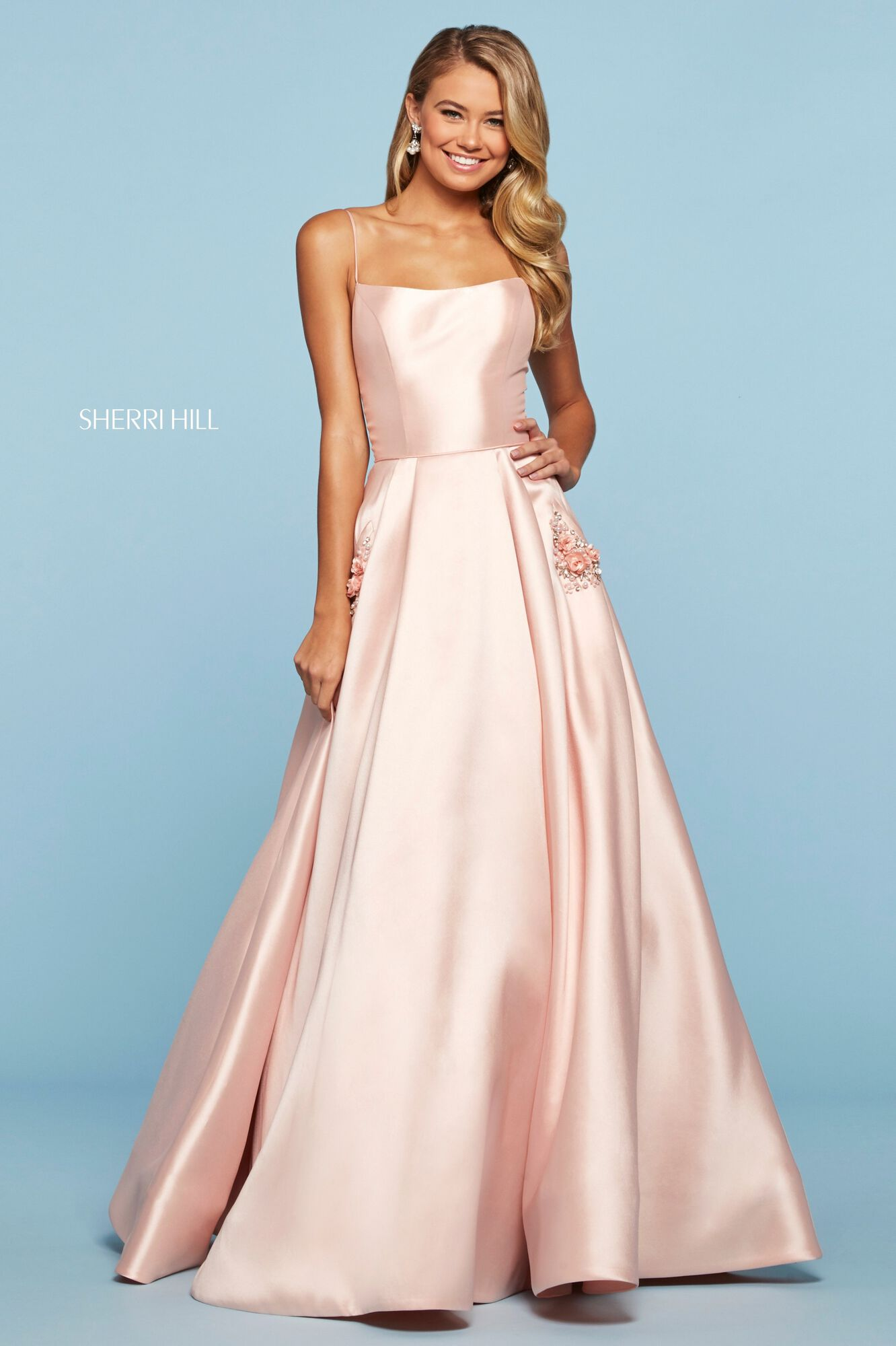 Buy Dress Style 53407 Designed By Sherrihill,Fall Black Tie Wedding Guest Dresses