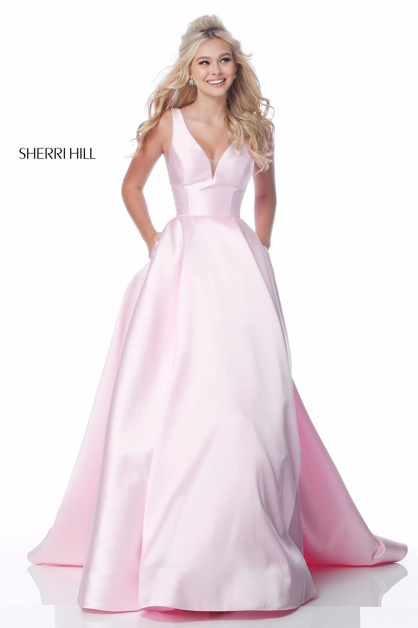 Buy Dress Style 51856 Designed By Sherrihill,Fall Black Tie Wedding Guest Dresses