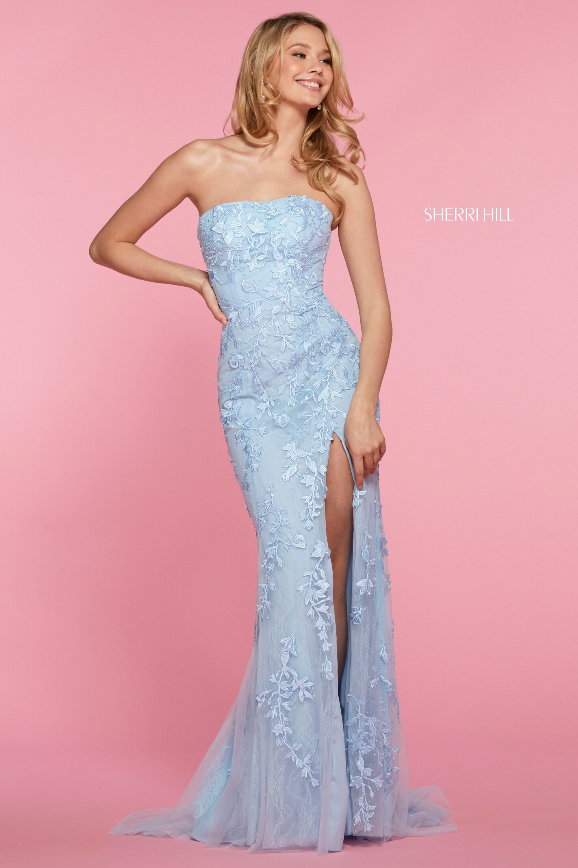 sherri hill strapless kleid discount code for a3825 764dc